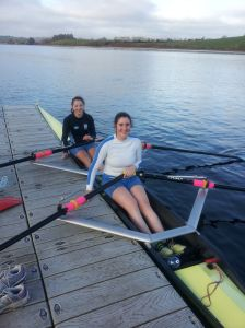Ladies u/18 Double:  Zoe and Meave