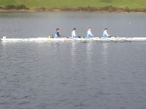 Boys u15 - coxed by Shane, first time - finished 4th